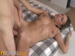 ORGASMS Intimate couple share passionate oral and sensual
