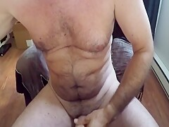 Jerking-off Cumshot Big Hairy Uncut Foreskin Amateur Cock