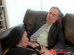hot boss in suit