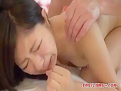 Japanese Doggy Style Creampie Scene 2