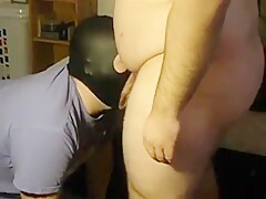 Verbal Bear Master Uses Slave BJ Huge Facial