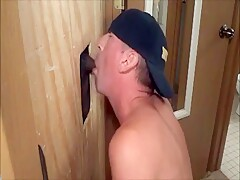 Sucking Black Cock At The Glory Hole