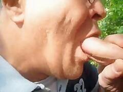 Outdoor Fuck and Suck