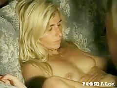 Girl get huge load on her hairy pussy(by edquiss)