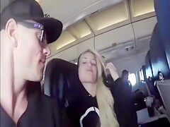 Blowjob On An Airline